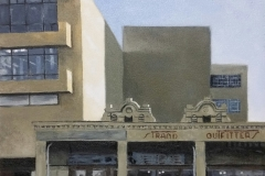 """Oxford Street, East London"", oil on canvas, 30x30cm."