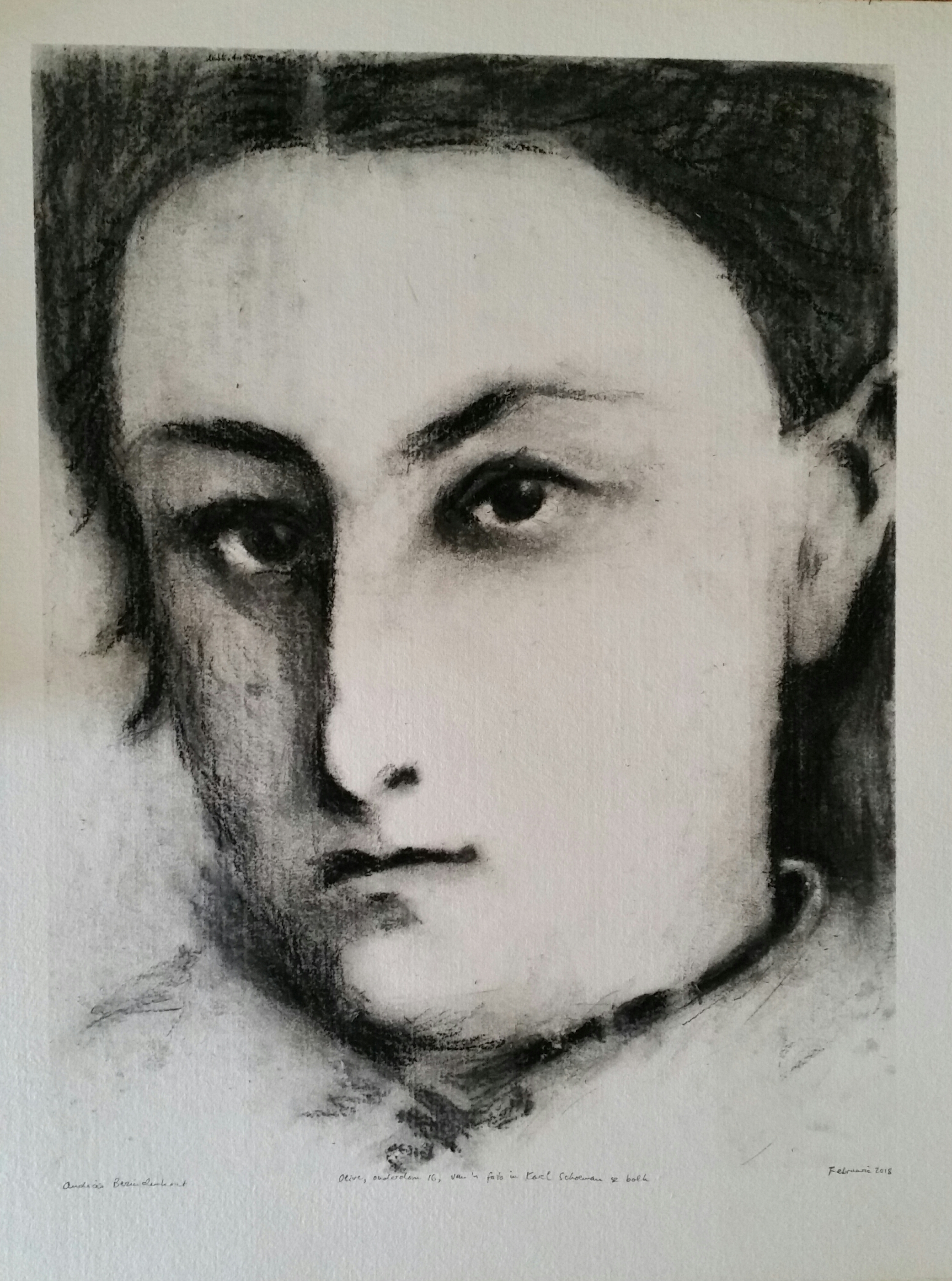Olive Schreiner at the age of 16 years