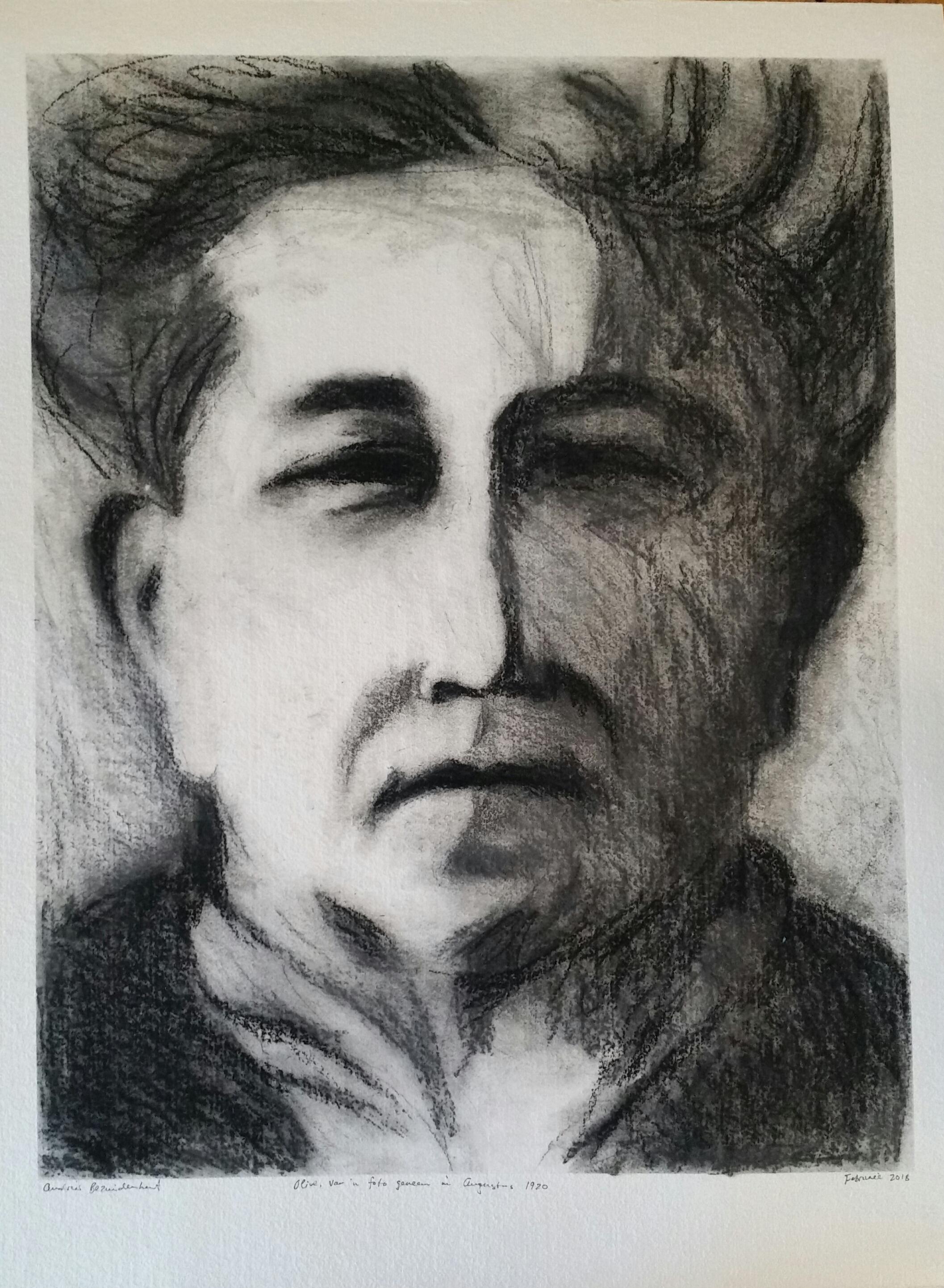 Olive Schreiner in 1920.